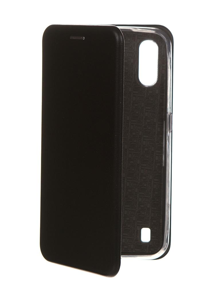 Чехол Zibelino для Samsung Galaxy M01 M015 Book Black ZB-SAM-M015-BLK