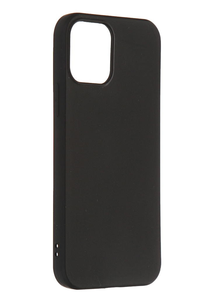 Чехол Zibelino для APPLE iPhone 12 / Pro Soft Matte Black ZSM-APL-12PRO-BLK