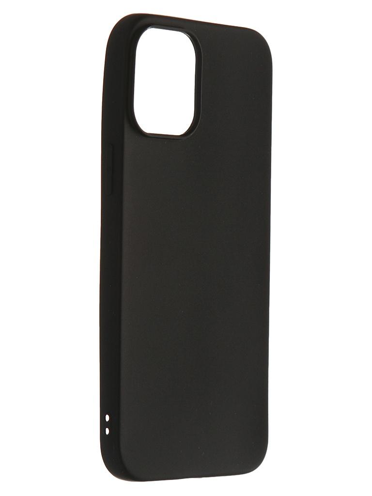 Чехол Zibelino для APPLE iPhone 12 Pro Max Soft Matte Black ZSM-APL-12PRO-MAX-BLK
