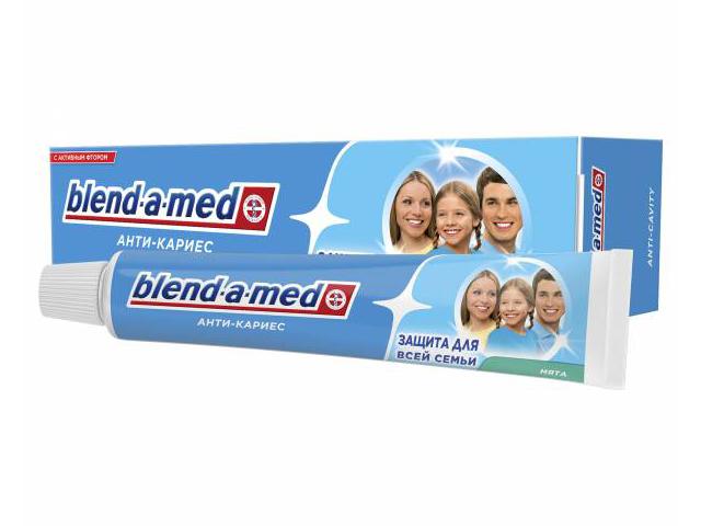 Зубная паста Blend-a-med Анти-кариес Мята 50ml 5000174416206