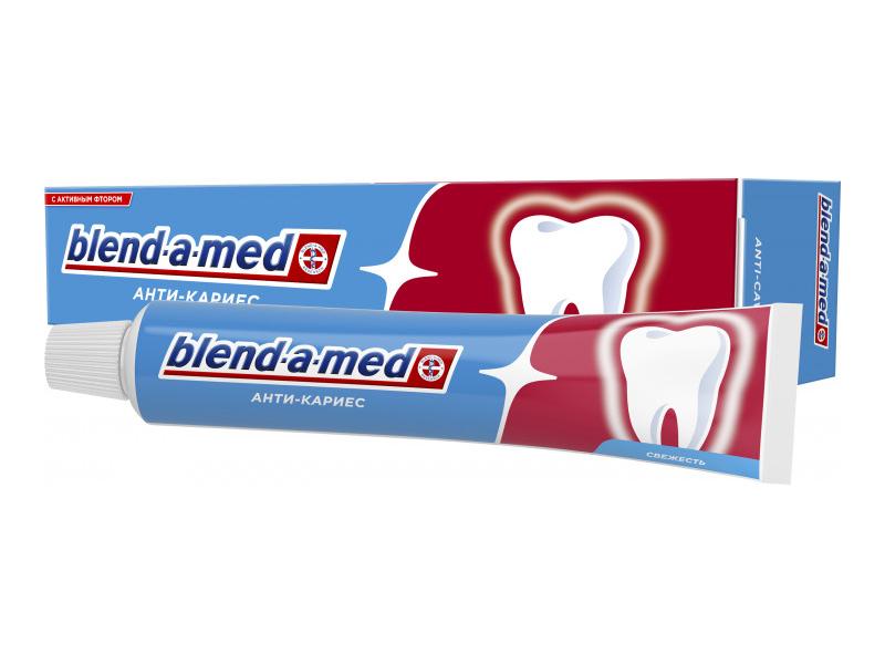 Зубная паста Blend-a-med Анти-кариес Свежесть 50ml 5000174418873