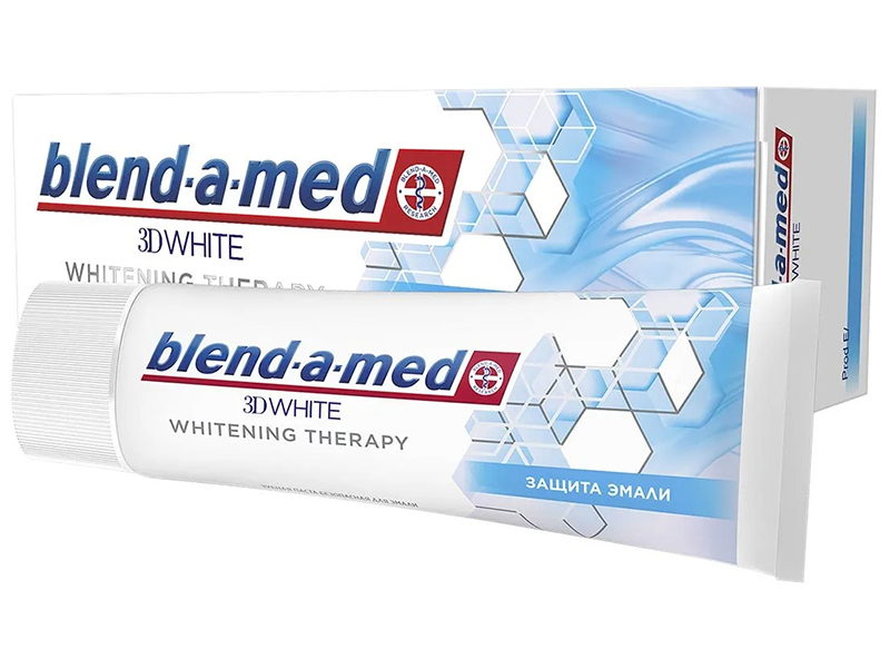 Зубная паста Blend-a-med 3D White Whitening Therapy Защита эмали 75ml 8001090743190