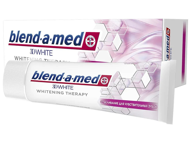 Зубная паста Blend-a-med 3D White Whitening Therapy Отбеливание для чувствительных зубов 75ml 8001090743237