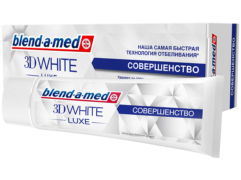 Зубная паста Blend-a-med 3D White Luxe Совершенство 75ml 8001090073907