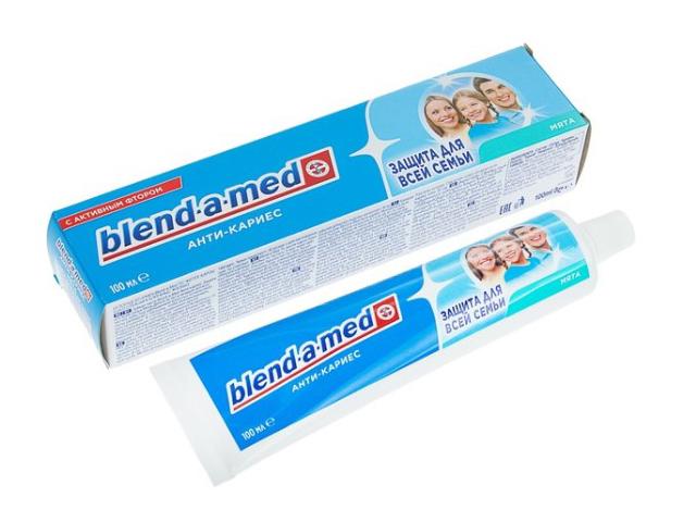Зубная паста Blend-a-med Анти-кариес Мята 100ml 5000174416237
