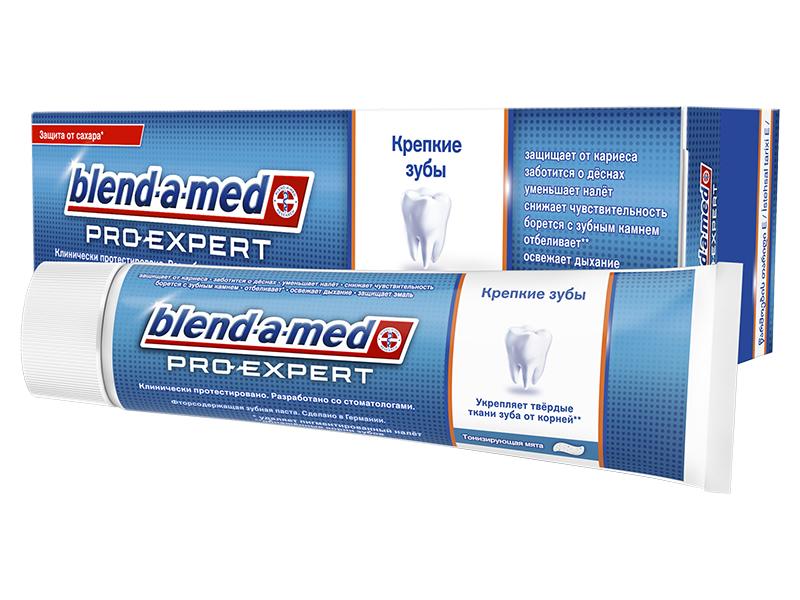 Зубная паста Blend-a-med ProExpert Крепкие зубы Тонизирующая мята 100ml 4015400856917