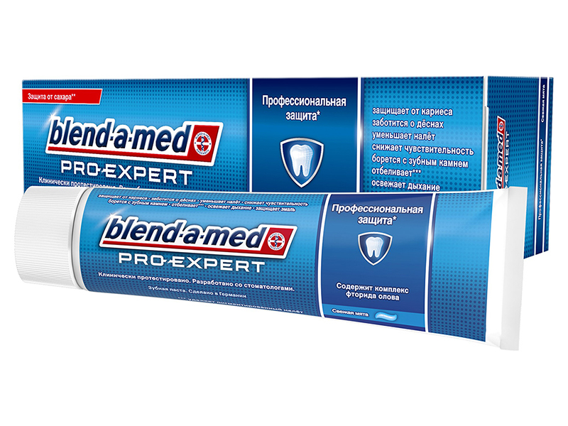 Зубная паста Blend-a-med ProExpert Профессиональная защита Свежая мята 100ml 5013965617195