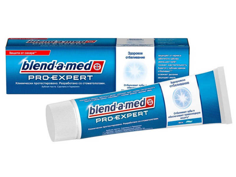 Зубная паста Blend-a-med ProExpert Здоровое отбеливание Мята 100ml 5410076744787