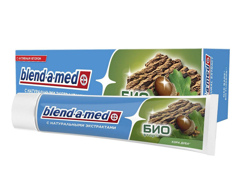 Зубная паста Blend-a-med БИО Кора дуба 100ml 5000174898538