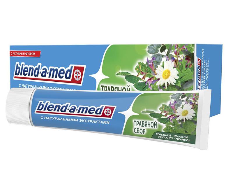 Зубная паста Blend-a-med Травяной сбор 100ml 5000174726527