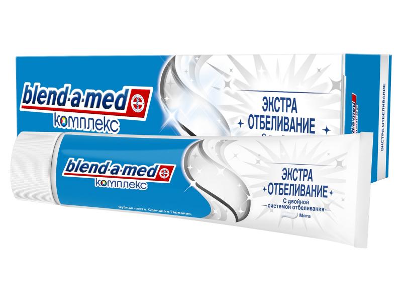 Зубная паста Blend-a-med Комплекс экстра отбеливание Мята 100ml 5000174415728
