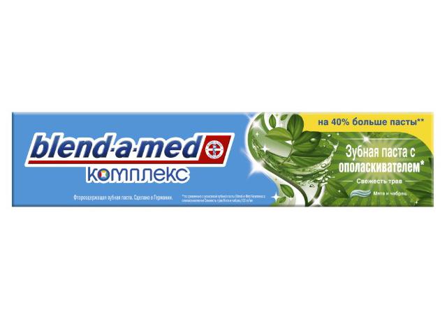 Зубная паста Blend-a-med Свежесть трав Мятя и чабрец 140ml 8001841037219