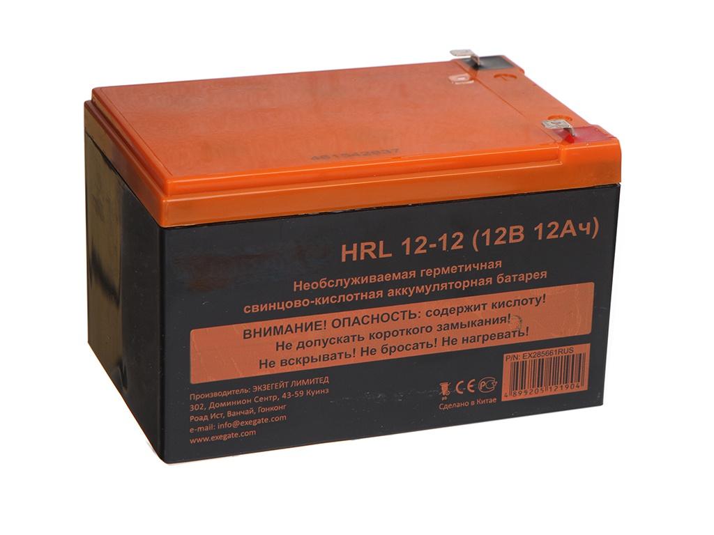 Аккумулятор для ИБП ExeGate HRL 12-12 12V 12Ah 1251W клеммы F2 EX285661RUS