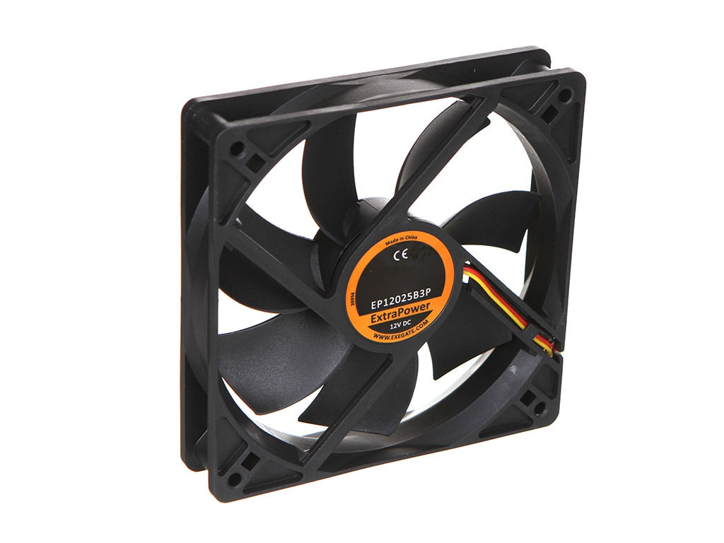 Вентилятор ExeGate ExtraPower EP12025B3P 120x120x25mm EX283386RUS