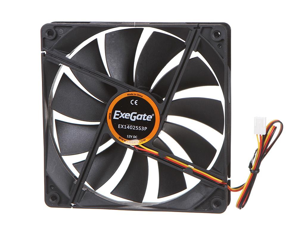 Вентилятор ExeGate EX14025S3P 140x140x25mm EX283396RUS
