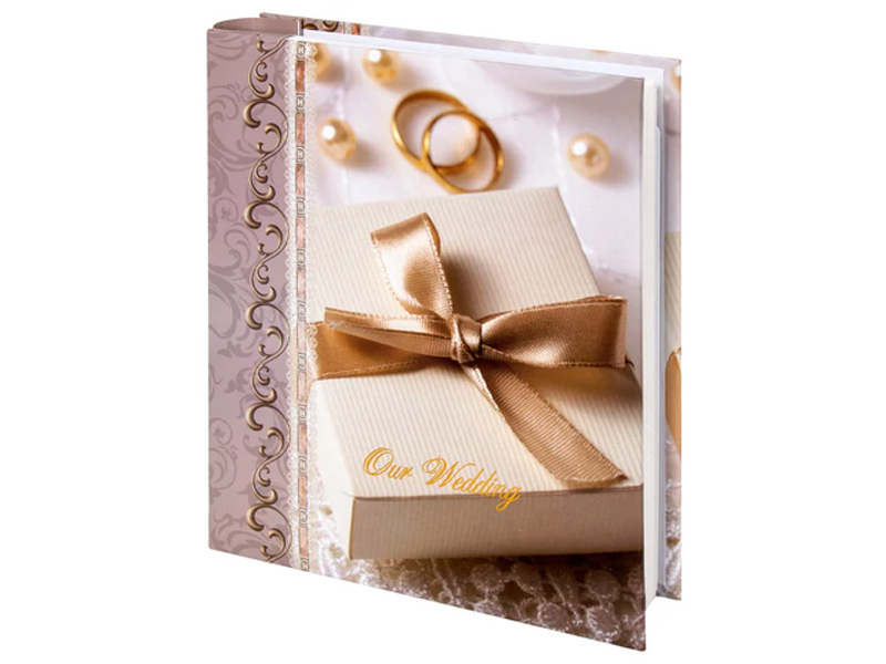 Фото - Фотоальбом Brauberg Свадебный 10x15cm 391153 свадебный ювелирный набор bamoer multicoloraaa jewelry sets