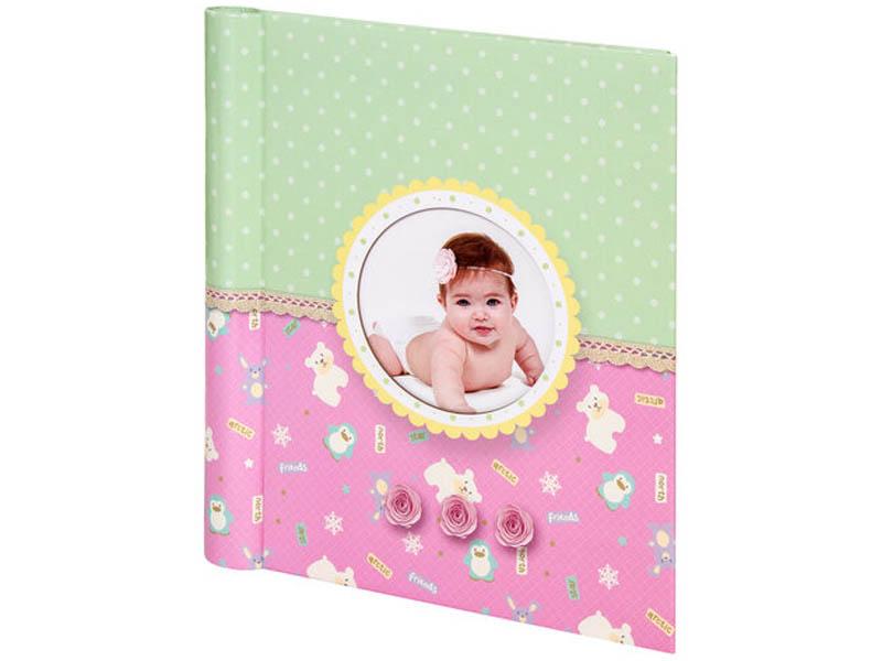 Фото - Фотоальбом Brauberg Sweet Dreams 23х28cm Pink 391150 фотоальбом mimishka kids мой первый год мишка тедди pink пг6