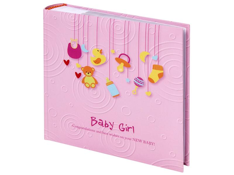 Фотоальбом Brauberg Baby Girl 10х15cm Pink 391143