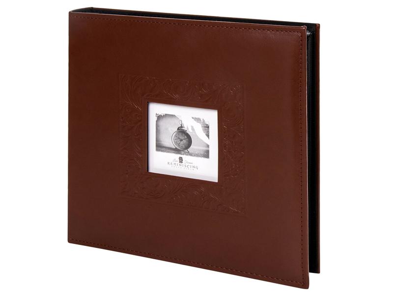 Фотоальбом Brauberg Smooth brown 10x15cm Brown 391177