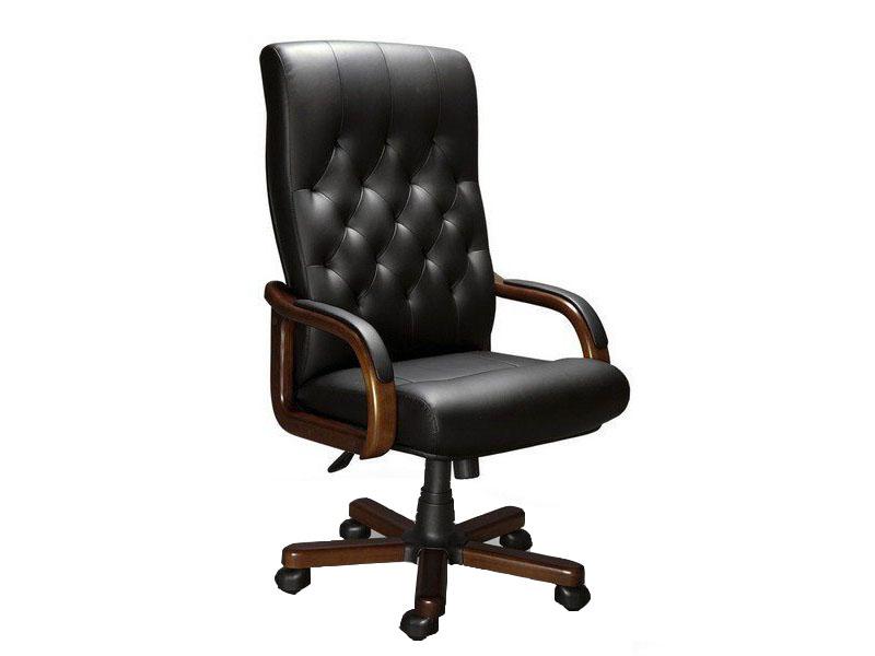 Компьютерное кресло Мирэй Групп Oxford A LX экокожа Black