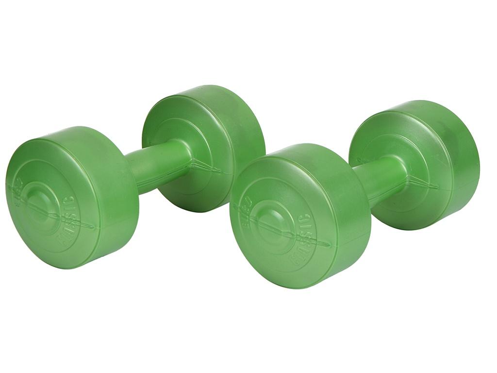 Гантели Euro Classic 2kg Lime Green 28273091