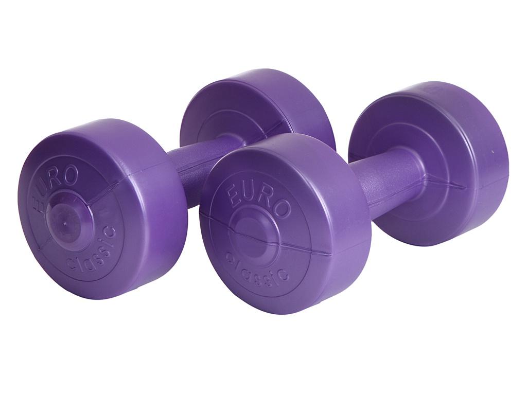Гантели Euro Classic 1.5kg Purple 28273090