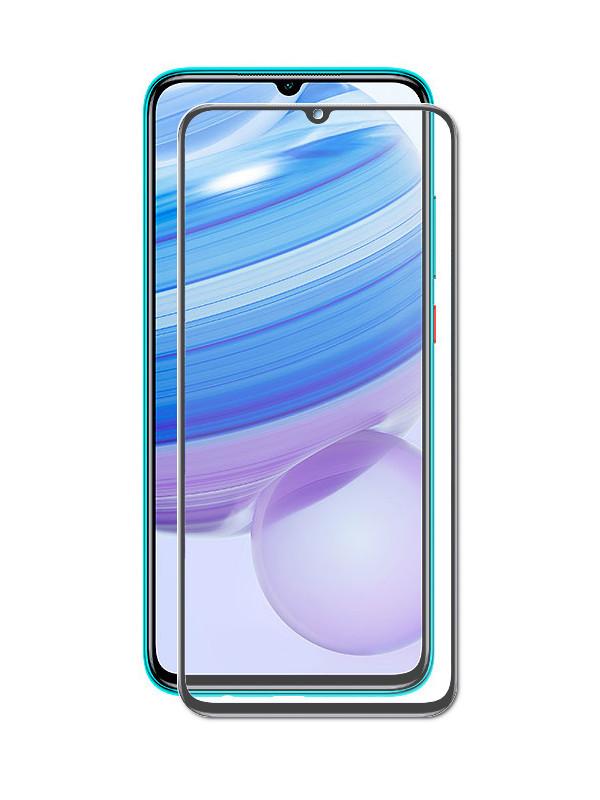Защитное стекло Krutoff для Xiaomi Redmi 10X / Pro Full Glue Premium Black 22894