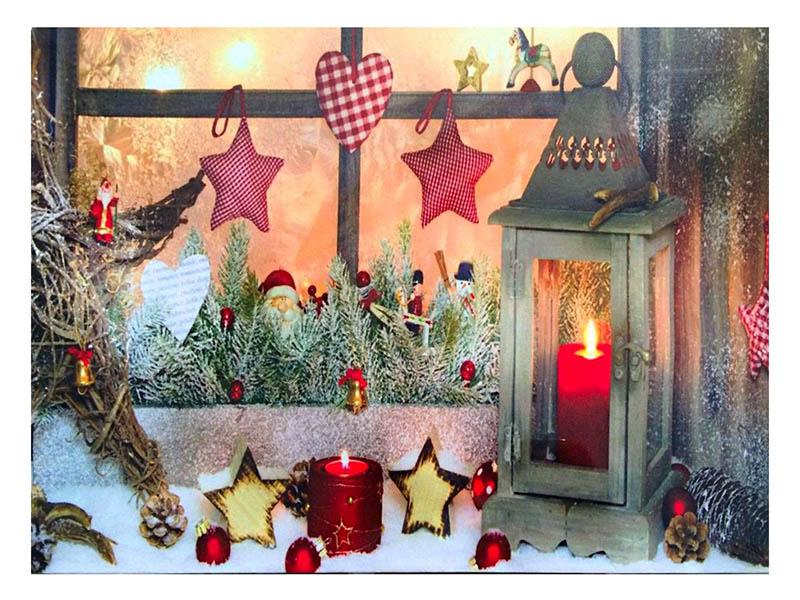 Светящееся украшение SnowHouse Картина LM-JH13-040