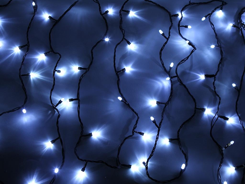 Гирлянда SnowHouse Нить 100 LED 10m RB-LD100-W-E