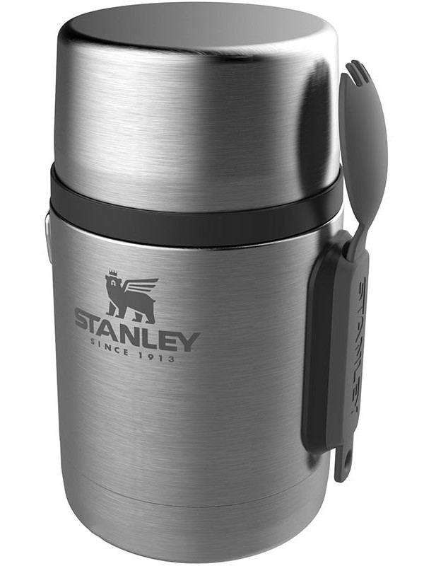 Термос Stanley Adventure Vacuum Food Jar 530ml Silver 10-01287-032