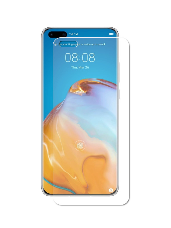Защитное стекло Liberty Project для Huawei P40 Pro 3D Full Glue 0,33mm 9H 0L-00048900