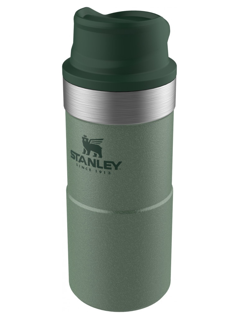 Термокружка Stanley The Trigger-Action Travel Mug 350ml Green 10-06440-014