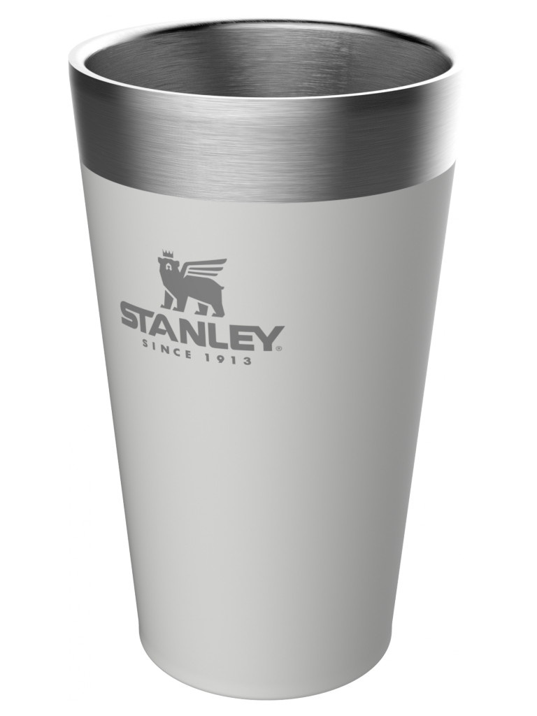 Термокружка Stanley Adventure Stacking Vacuum Pint 470ml White 10-02282-059