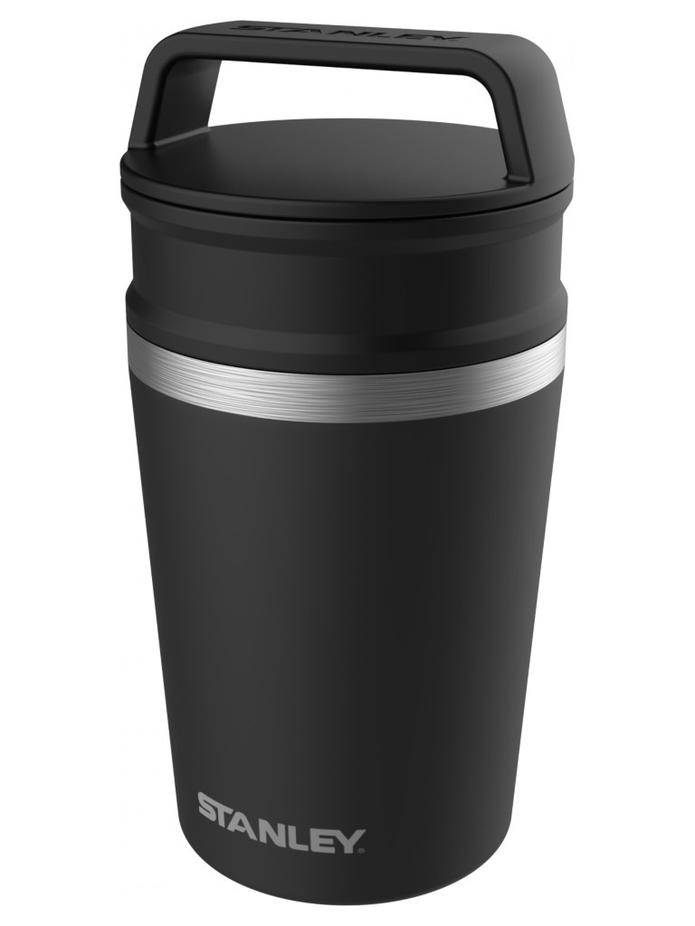 Термокружка Stanley Adventure Vacuum Mug 230ml Black 10-02887-028