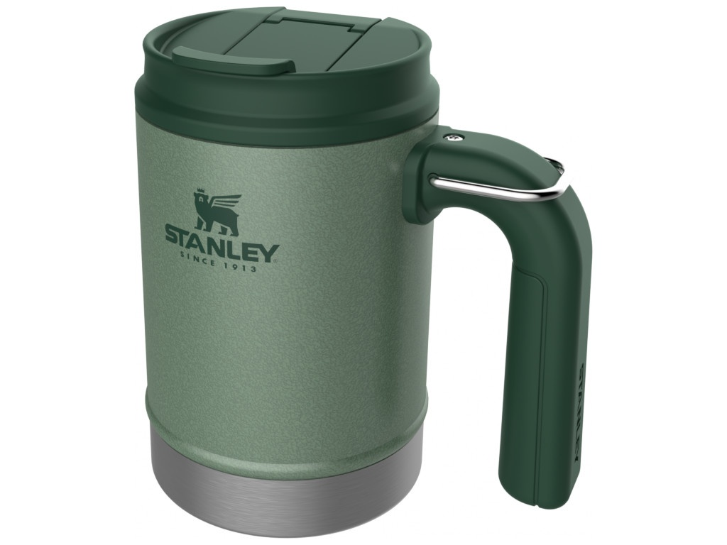 Термокружка Stanley The Big Grip Camp Mug 470ml Green 10-01693-025
