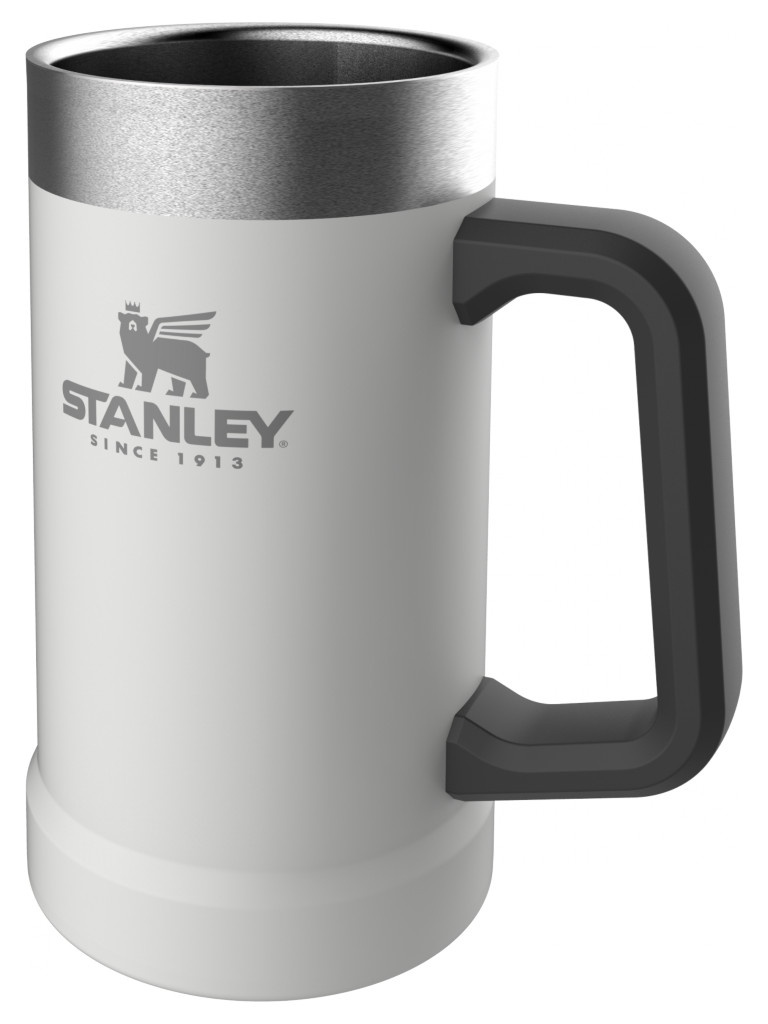Термокружка Stanley Adventure Vacuum Stein 700ml White 10-02874-035