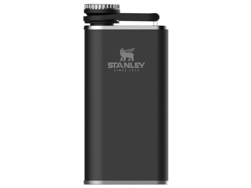 Stanley The Easy-Fill Wide Mouth Flask 230ml Black 10-00837-127