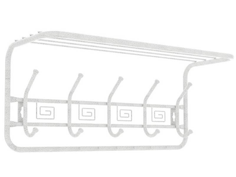 Вешалка ЗМИ Ажур 60cm White Silver ВСПА202БС