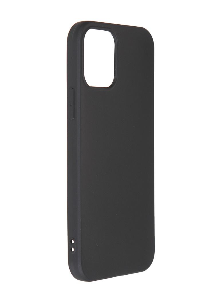 Чехол Liberty Project для APPLE iPhone 12 / Pro TPU Silicone Black 0L-MG-WF272