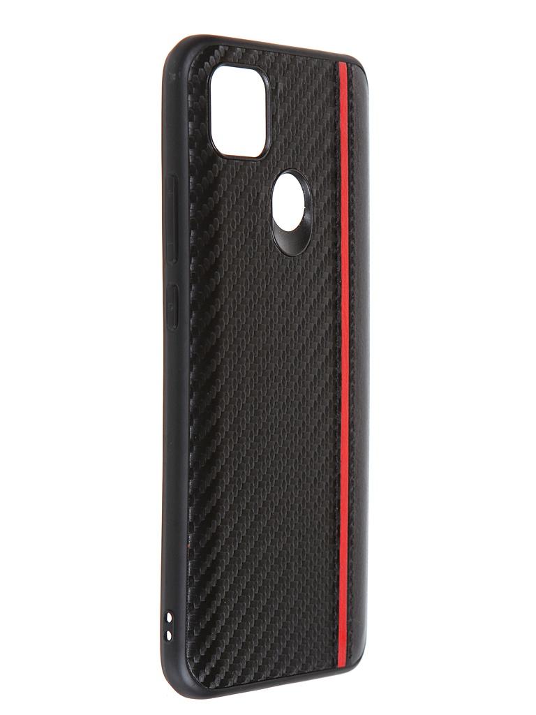 Накладка G-Case для Xiaomi Redmi 9C Carbon Black GG-1287