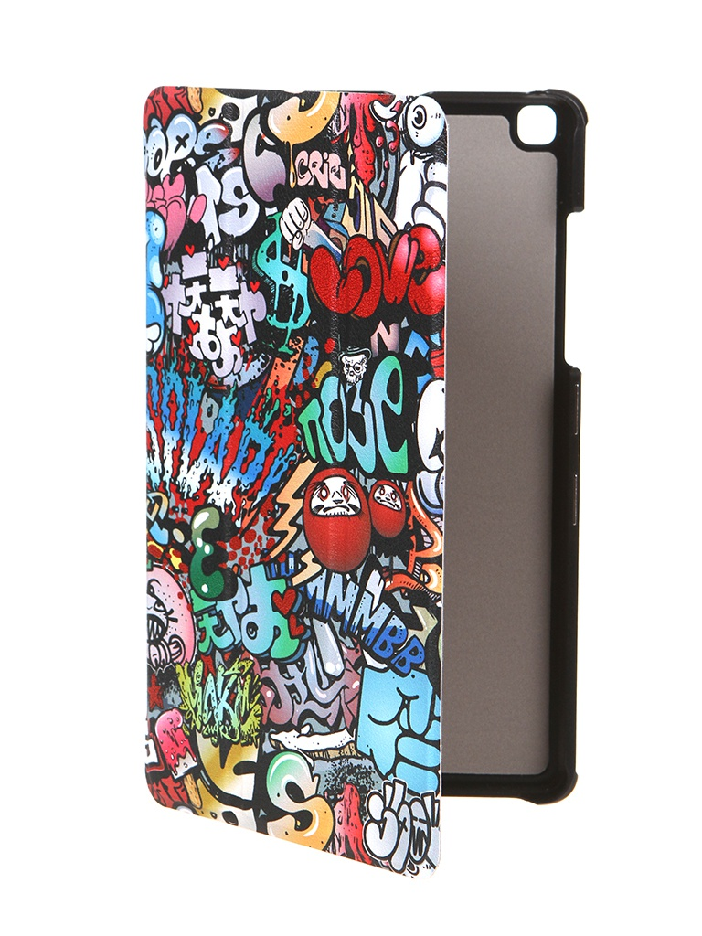 Чехол Zibelino для Samsung Galaxy Tab A 8.0 T290 / T295 Tablet Magnetic Graffiti ZT-SAM-T290-PGRF