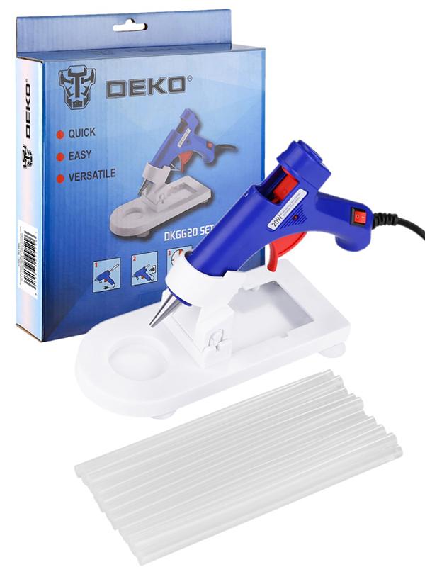 Термоклеевой пистолет Deko DKGG20 Set4 063-4968