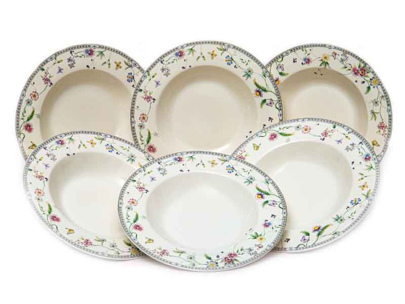 Набор тарелок PSF Group Balsford Мануэла 550ml 6 предметов 181-44009-3