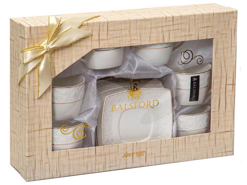 Кофейный набор PSF Group Balsford Нежность 12 предметов 179-01003