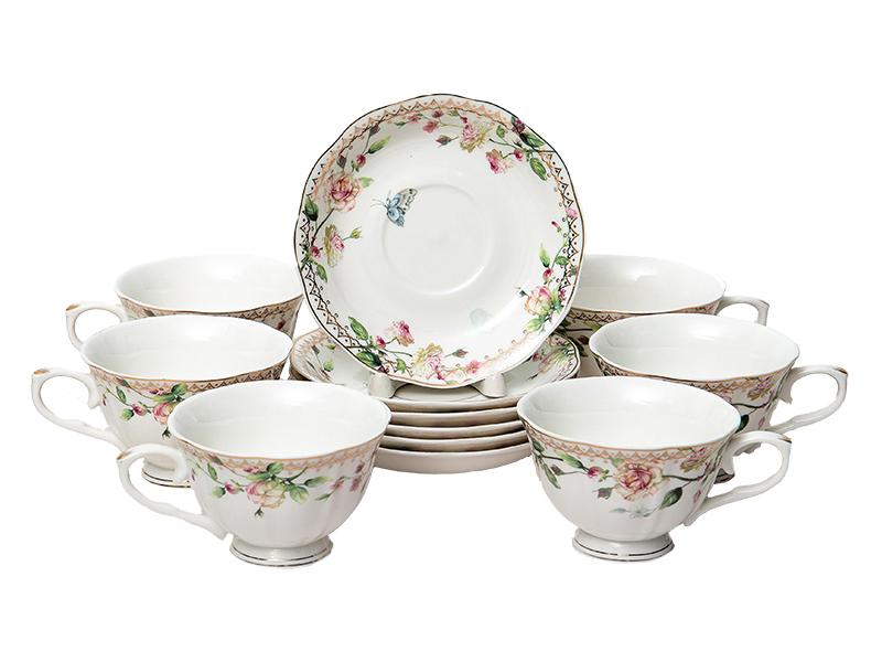Чайный набор PSF Group Balsford Стефания 12 предметов 176-42002