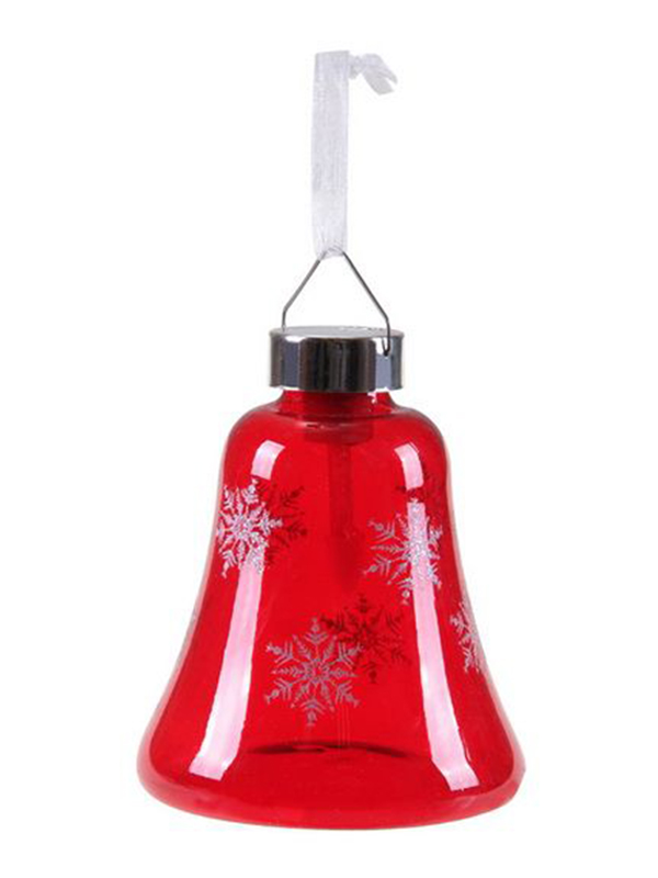 Светящееся украшение SnowHouse Светильник-подвеска Колокольчик Red GM3307-36