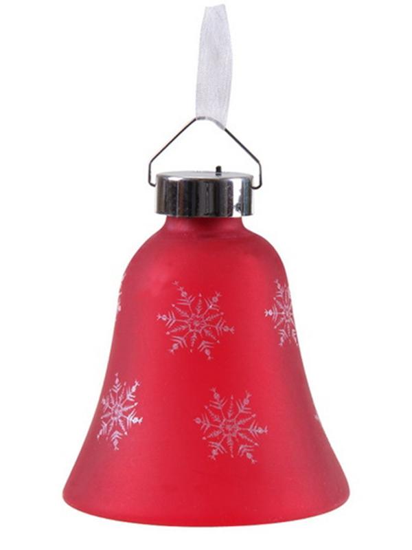 Светящееся украшение SnowHouse Светильник-подвеска Колокольчик Red GM3307-33