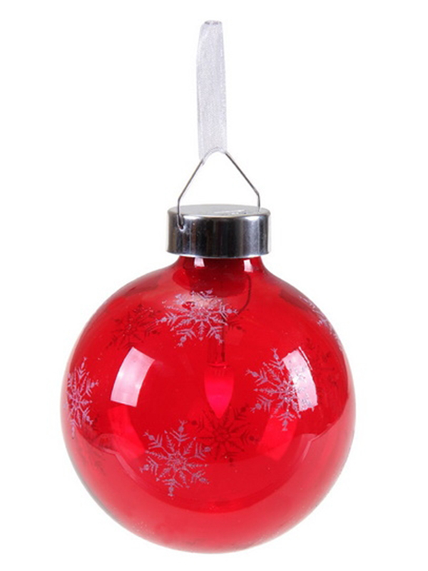 Светящееся украшение SnowHouse Светильник-подвеска Шар Red GM3307-31