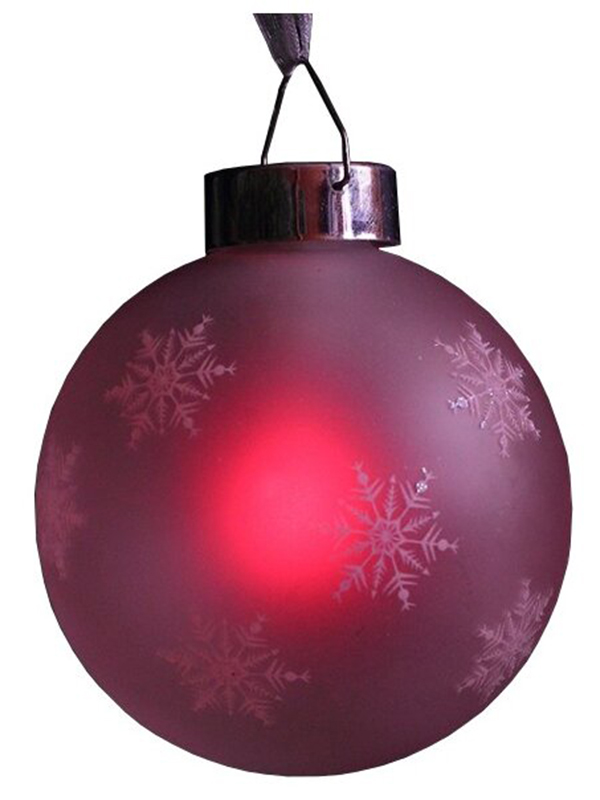Светящееся украшение SnowHouse Светильник-подвеска Шар Red GM3307-26