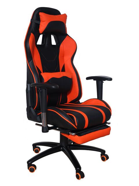Компьютерное кресло Меб-фф MFG-6016 Black-Orange